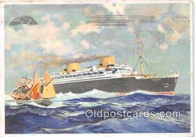 shi200100 - Ship Postcard Post Card