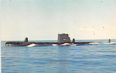 shi400053 - Submarines Post Card Old Vintage Antique Postcard