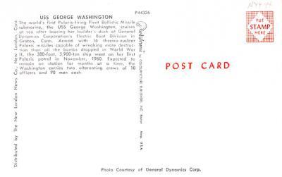 shi400065 - Submarines Post Card Old Vintage Antique Postcard  back