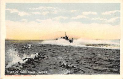 shi400071 - Submarines Post Card Old Vintage Antique Postcard