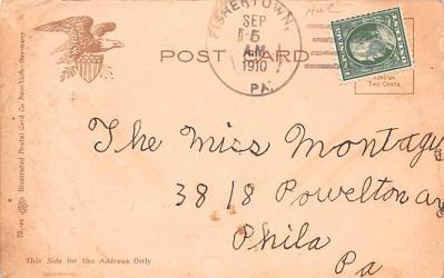shi400085 - Submarines Post Card Old Vintage Antique Postcard  back
