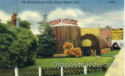 Stump House, Eureka, California, USA,
