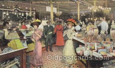 shp001034 - Fralinger's, Atlantic City, New Jersey, NJ, USA Store Fronts and Store Interiors, Postcard Postcards