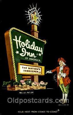 shp001038 - Holiday Inn Butler, PA, USA Postcard Post Cards Old Vintage Antique
