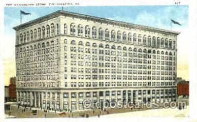 shp001046 - Wanamaker Store Philadelphia, PA, USA Postcard Post Cards Old Vintage Antique
