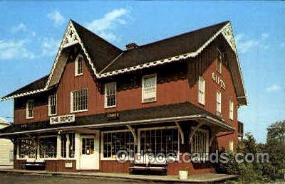 shp001049 - Depot Gifts Hardint Township, NJ, USA Postcard Post Cards Old Vintage Antique