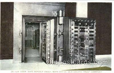 25 Ton Door, Safe Deposit Vault, Old Colony Trust Company