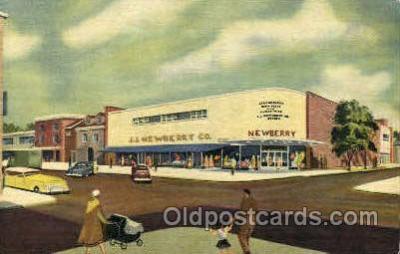 shp001075 - JJ Newberry Co's New Modern Store Stroudsburg, PA, USA Postcard Post Cards Old Vintage Antique