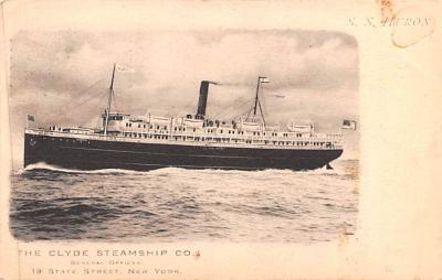 shp010087 - Clyde Steamship Company Postcard Old Vintage Antique Post Card