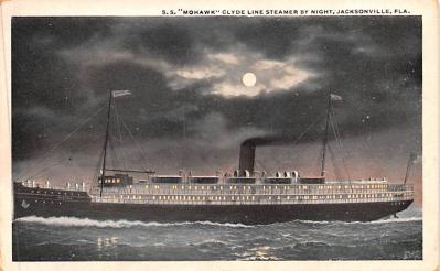 shp010089 - Clyde Steamship Company Postcard Old Vintage Antique Post Card
