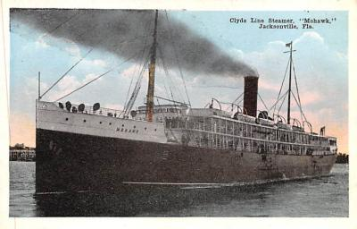 shp010091 - Clyde Steamship Company Postcard Old Vintage Antique Post Card
