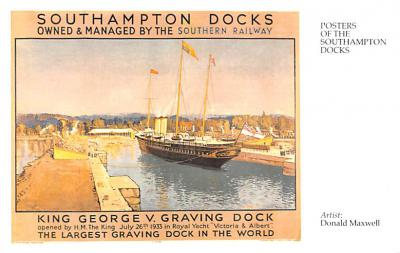 shp010119 - Sail Boat Postcard Old Vintage Antique Post Card