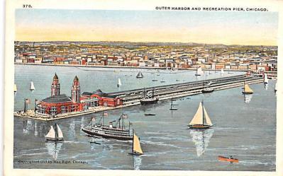 shp010123 - Sail Boat Postcard Old Vintage Antique Post Card