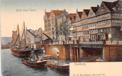 shp010137 - Sail Boat Postcard Old Vintage Antique Post Card