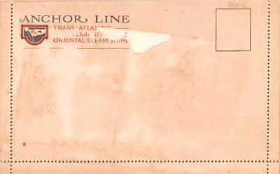 shp010227 - Anchor Line Ship Postcard Old Vintage Antique Post Card