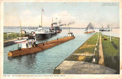 shp010251 - Freighter Shipping Postcard Old Vintage Antique Post Card