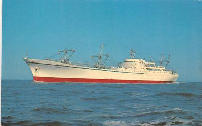 shp010253 - Freighter Shipping Postcard Old Vintage Antique Post Card