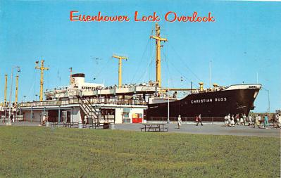 shp010257 - Freighter Shipping Postcard Old Vintage Antique Post Card