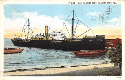 shp010277 - Freighter Shipping Postcard Old Vintage Antique Post Card