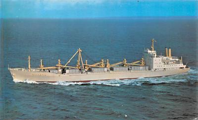 shp010325 - Freight Ship Postcard Old Vintage Antique Post Card