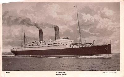 shp010553 - White Star Line Cunard Ship Post Card, Old Vintage Antique Postcard