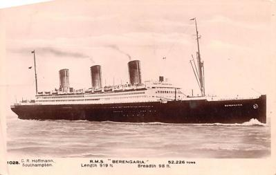 shp010567 - White Star Line Cunard Ship Post Card, Old Vintage Antique Postcard