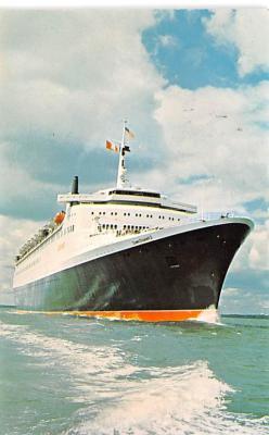 shp010997 - White Star Line Cunard Ship Post Card, Old Vintage Antique Postcard