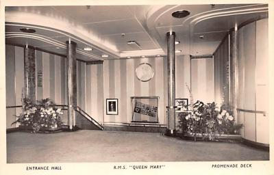 shp011085 - White Star Line Cunard Ship Post Card, Old Vintage Antique Postcard