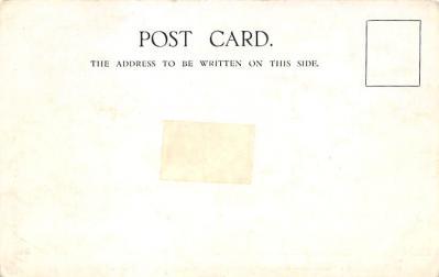 shpp006099 - Cunard Line Ship Postcard Old Vintage Steamer Antique Post Card  back