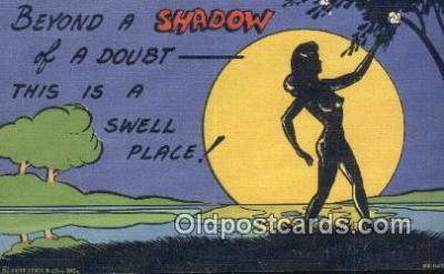 sit001192 - Beyond a Shadow of a Doubt  Postcard Post Card, Carte Postale, Cartolina Postale, Tarjets Postal,  Old Vintage Antique