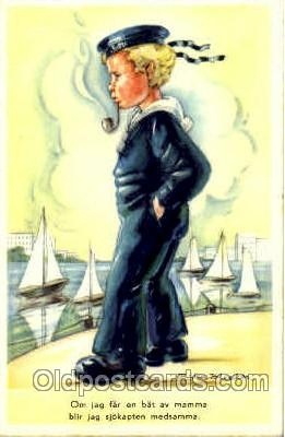 smo001161 - Children Smoking Postcard Postcards