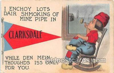 Smoking Postcard Postcards