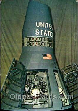 Two-man Gemini Spacecraft