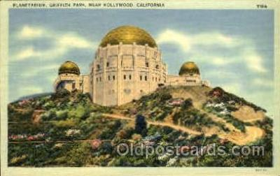 Planetarium, Griffith Park, LA, CA USA