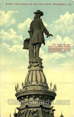 William Penn Statue