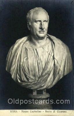 Museo Capitolino, Busto di Cicerone, Roma