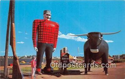 Paul Bunyan & Babe, His Blue Ox