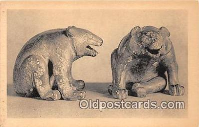 Pair of Chinese Bronze Bears