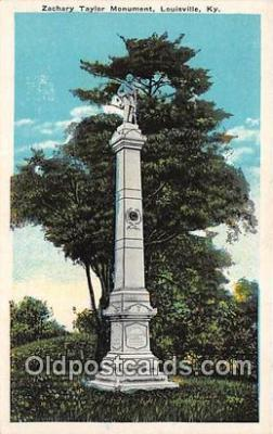 Zachery Taylor Monument