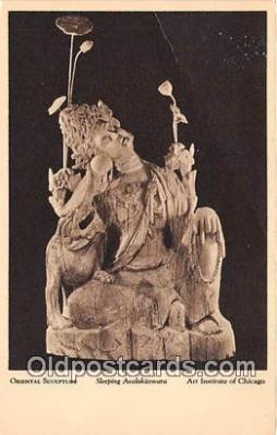 Oriental Sculpture, Sleeping Avalokitesvara