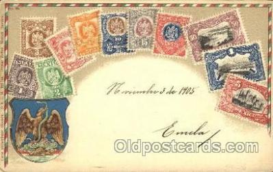 Embossed Mexico