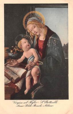 sub000089 - Vergine col Figlio - S. Botticelli