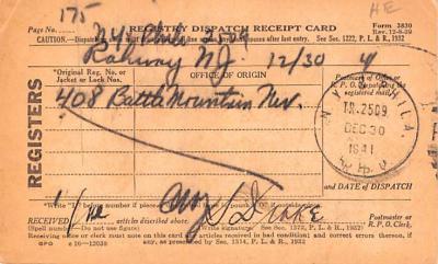 sub000265 - Registry Dispatch Receipt Card