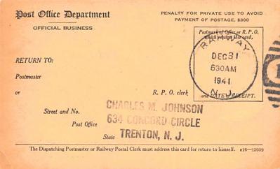 sub000265 - Registry Dispatch Receipt Card  back
