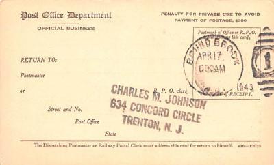 sub000267 - Registry Dispatch Receipt Card  back