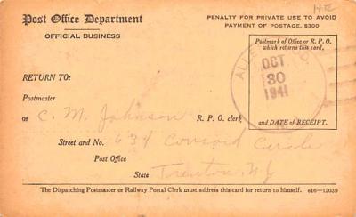 sub000285 - Registry Dispatch Receipt Card  back
