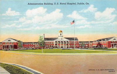 sub000861 - Administration Building, U.S. Naval Hospital, Dublin, GA, USA