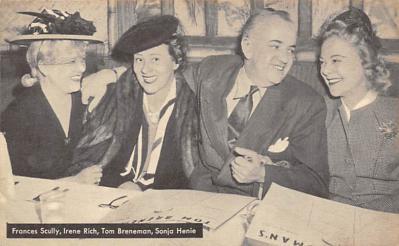 sub001103 - Frances Scully, Irene Rich, Tom Breneman, Sonja Henie