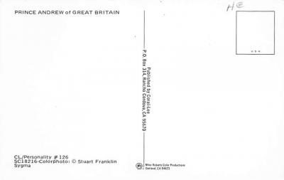 sub001179 - Prince Andrew of Great Britain  back