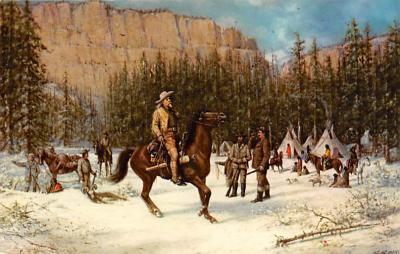 sub001185 - Buffalo Bill on Hunting Trip